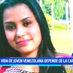 Ayuda Social: La vida de joven venezolana depende de la caridad