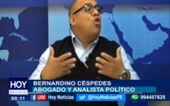 #Chiclayo: Entrevistamos a Bernardino Céspedes, Abogado y Analista Político