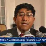 La Libertad: Censura a gerente del Gobierno Regional llega al Poder Judicial