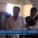Chiclayo: Congresistas mencionados en caso temerarios del crimen
