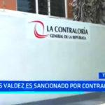 Luis Valdez: Contraloría sanciona por presuntas irregularidades