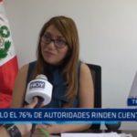 Contraloría: Sólo el 76% de autoridades rinden cuentas