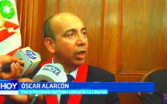 Eligen a juez Óscar Alarcón como nuevo presidente del Poder Judicial