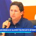 Daniel Salaverry: Exigen renuncia por presuntos informes falsos