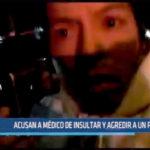 Trujillo: Acusan a médico de insultar y agredir a un policía