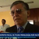 Piura: Distrito fiscal paralizado por falta de presupuesto