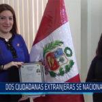 Chiclayo: Dos ciudadanas extranjeras se nacionalizan
