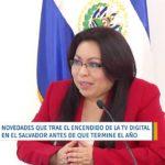 Inicia el encendido digital en la televisión estatal de El Salvador