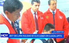 Elecciones 2018: JEET declara nulidad de elecciones en Guadalupito