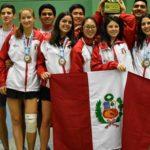 79 medallas para Perú en el Sudamericano de Bádminton