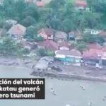 Indonesia: El Krakatoa vuelve a provocar otra tragedia
