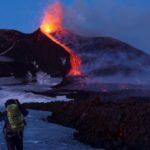 Volcán Etna entra en erupción tras sismo de 4,8 grados