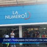 Chimbote: Jóvenes trabajaban encerrados con candados