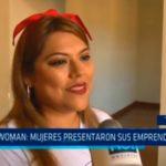 Expo Woman: Mujeres presentaron sus emprendimientos