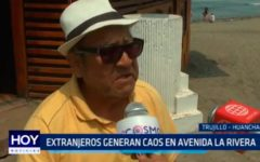 Extranjeros generan caos en avenida La Rivera