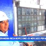 Hidrandina inicia inspecciones de mercados por navidad