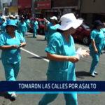 Chimbote: Tomaron las calles por asalto
