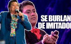 Mexico: Conductor se burla de imitador de Juan Gabriel peruano y este le responde.