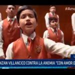 """Lanzan villancico contra la anemia """"Con amor de hierro"""""""