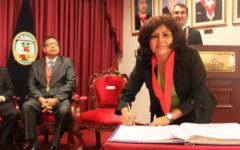 Jueza que evalúa apelación de Keiko Fujimori estuvo en fiesta de César Hinostroza