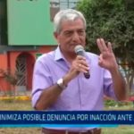 Minimiza posible denuncia por inacción ante ambulantes