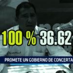 Chimbote: Promete un gobierno de concertación