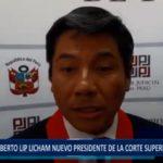 Piura: Alberto Lip es el nuevo Presidente de la Corte Superior de Justicia