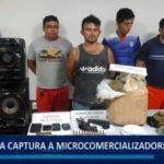 Piura: Policía captura a microcomercializadores de droga
