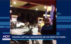 """Piura: Policía captura a presuntos asaltantes en grifo """"Macarena"""""""
