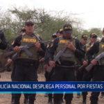 Chiclayo: Policía nacional despliega personal por fiestas navideñas
