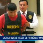 """Dictan nueve meses de prisión a """"Marcas"""""""