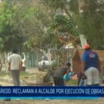 Laredo: Reclaman a alcalde por ejecución de obras a última hora