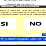 Referéndum 2018: ¿Qué tanto conocen los ciudadanos sobre este referéndum?
