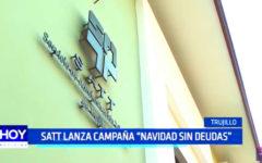 """Trujillo: SATT lanza campaña """"Navidad sin deudas"""""""