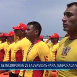 Chiclayo. Se incorporan 25 salvavidas para temporada veraniega