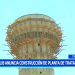 Sedalib anuncia construcción de planta de tratamiento
