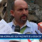 """Estaba acorralado: SEGAT pagó parte de la deuda con """"Trujillo Límpio"""""""