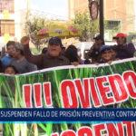 Chiclayo: Suspenden fallo de prisión preventiva contra Oviedo