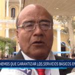 Chiclayo: Tenemos que garantizar los servicios básicos en Chiclayo