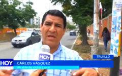 Víctor Larco: Alcalde resalta incremento de áreas verdes