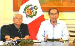 Primeras palabras de Martín Vizcarra tras resultados del Referéndum