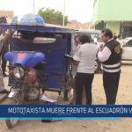 Chiclayo: Mototaxista muere frente al escuadrón verde