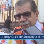 Chiclayo: Se han instalado 14 plataformas de defensa civil