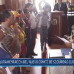 Chiclayo: Juramentación del nuevo comité de seguridad ciudadana