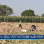 Chiclayo: Más de 200 agricultores piden se anule orden de desalojo