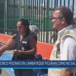 Chiclayo: Cinco piscinas en Lambayeque figuran como no saludables