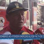 Chiclayo: Bomberos no atienden emergencias por falta de combustible