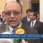 Chiclayo: Se espera recuperar flujo turístico en Lambayeque