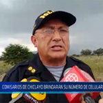 Chiclayo: Comisarios de Chiclayo brindarían su número de celular a la población