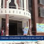 Chiclayo: Comuna leonardina devolvió 8 millones de soles